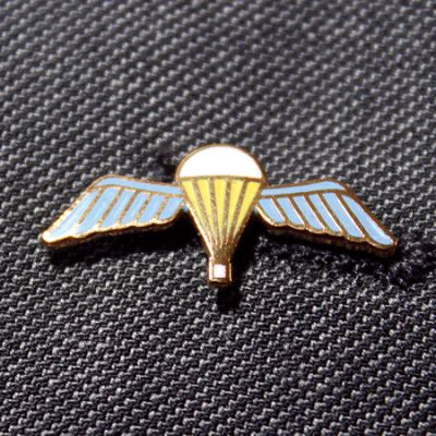 Para Qualification Wings Lapel Badge