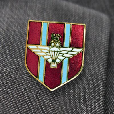Shield Style Parachute Regiment Lapel Badge