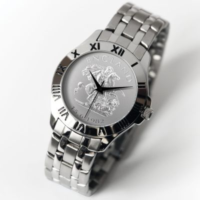 The Patriot Watch with Silver Bracelet