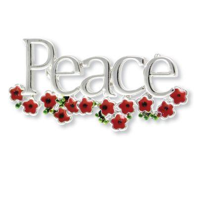 Peace Brooch