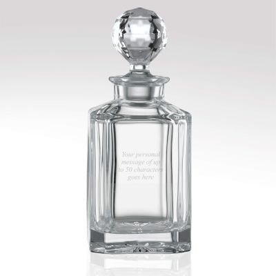 Square Glass Decanter 80cl