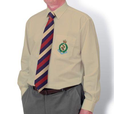 Khaki Long Sleeve Dress Shirt