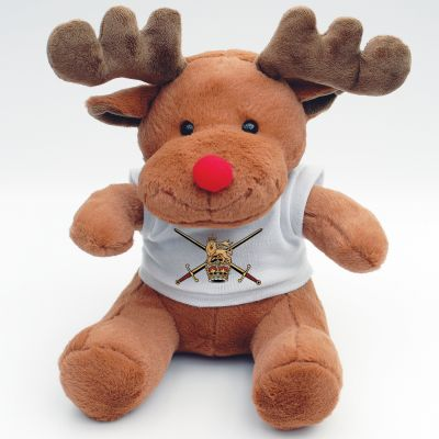Personalised Reindeer With White T-shirt