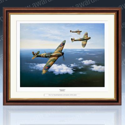 Rolling to Starboard Framed Print