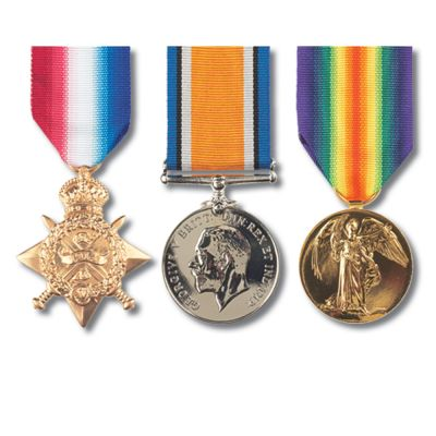 """Set Of 3 """"Pip Squeak & Wilfred"""" Full Size Medals"""