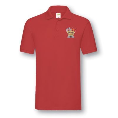 Crown & Country Polo shirt Red