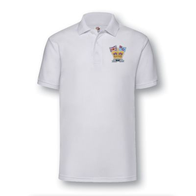 Crown & Country Polo shirt White
