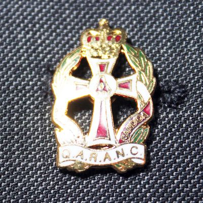 QARANC LAPEL BADGE