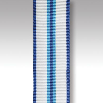 "Queens Sapphire Jubilee Miniature Ribbon 6"" Length"