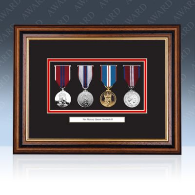 Queen's Diamond Jubilee Medal Frame
