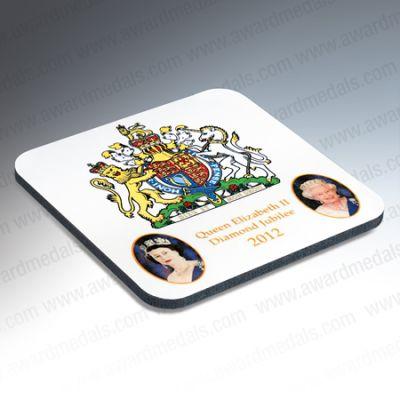 Jubilee Portrait Coaster