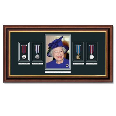 Queen's Longest Reign Framed Commemoration Frame