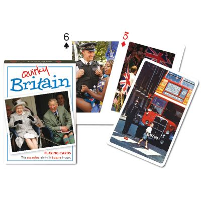 Quirky Britain Playing Cards