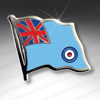 RAF Ensign Lapel Badge