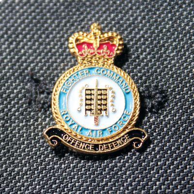 RAF Fighter Command Lapel Badge