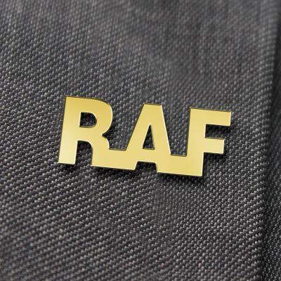RAF Gilt Lapel Badge