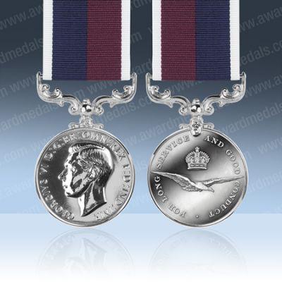 RAF LS & GC GVIR Full Size Medal Loose
