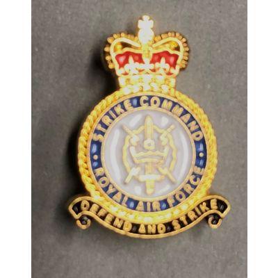 RAF Strike Command Lapel Badge