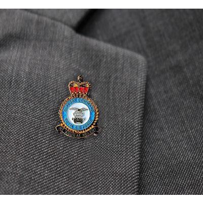 RAF Support Command Lapel Badge