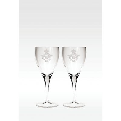 Plain Glass Wine Glass Pair including Gift Box
