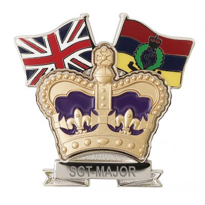 Royal Army Medical Corps Crown & Country Lapel Badge