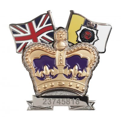 Royal Army Service Corps Crown & Country Lapel Badge