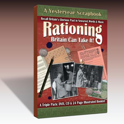 Rationing - Britain Can Take It Scrapbook
