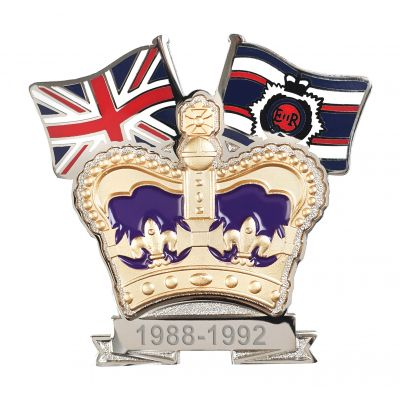 Royal Corps Of Transport Crown & Country Lapel Badge