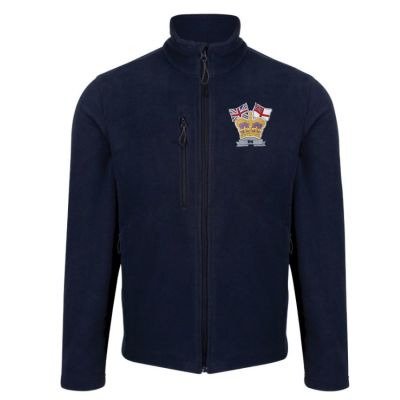 CROWN & COUNTRY HONESTLY MADE RECYCLED FLEECE NAVY