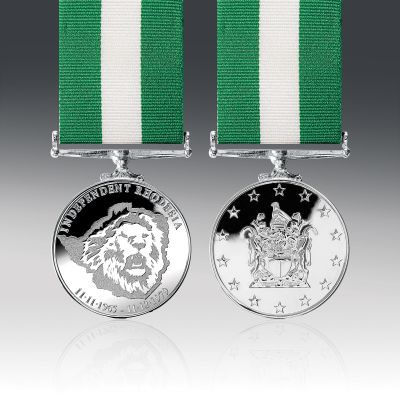Rhodesian Independence Full Size Commemorative Medal