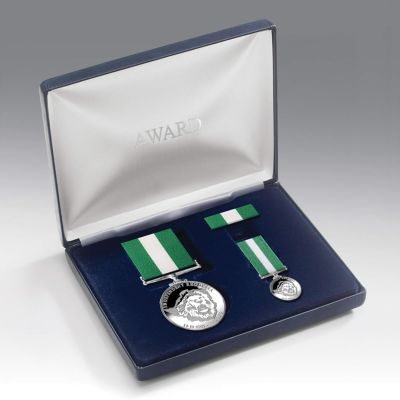 Rhodesian Independence Medal Presentation Set
