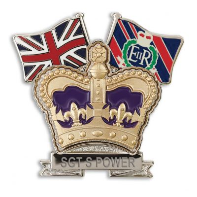 Royal Military Police Crown & Country Lapel Badge