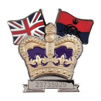 Royal Artillery Crown & Country Lapel Badge