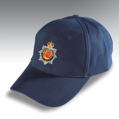 Embroidered Baseball Hat Navy Blue Royal Corps of Transport