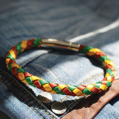 The Royal Dragoon Guards Leather Bracelet 19cm