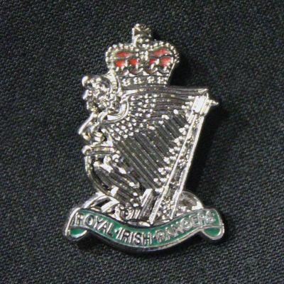 Royal Irish Rangers Lapel Badge
