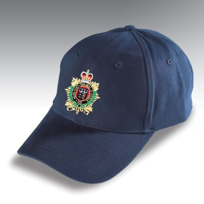Embroidered Baseball Hat Navy Blue Royal Logistic Corps