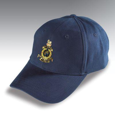 Embroidered Baseball Hat Navy Blue Royal Marines