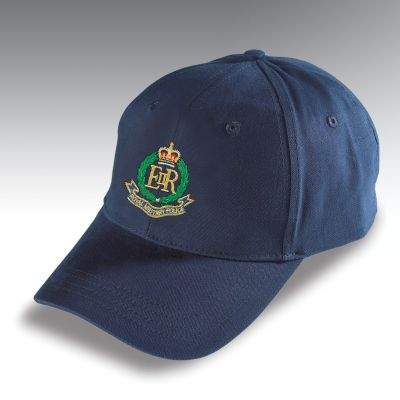 Embroidered Baseball Hat Navy Blue Royal Military Police