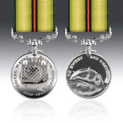 Royal Naval Patrol Service 1939-45 Full Size Medal
