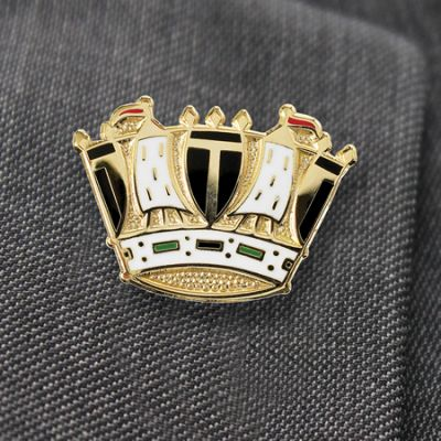 Royal Navy Coronet Lapel Badge