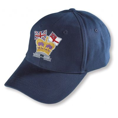 CROWN & COUNTRY BASEBALL HAT NAVY