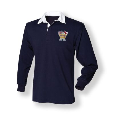 Crown & Country Rugby Shirt Navy
