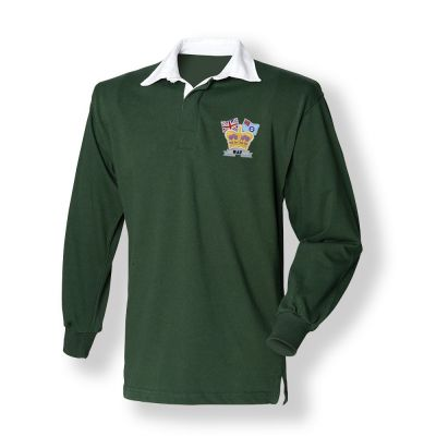 Crown & Country Rugby Shirt Green