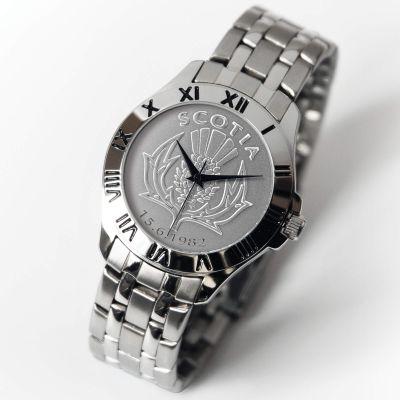 Patriot Watch Silver Bracelet SCOTTISH