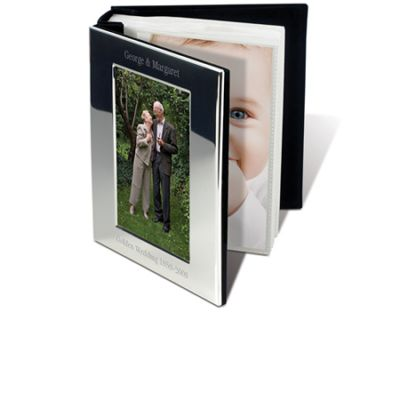 SILVER PLATED PHOTO BOOK