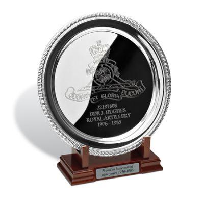 Silver Plated Salver In Presentation Box