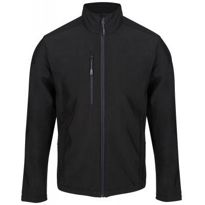 Service Emblem Regatta Honestly Made Recycled Soft Shell Jacket Black