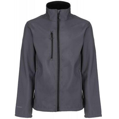 Service Emblem Regatta Honestly Made Recycled Soft Shell Jacket Grey