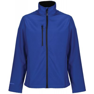 Service Emblem Regatta Honestly Made Recycled Soft Shell Jacket Blue